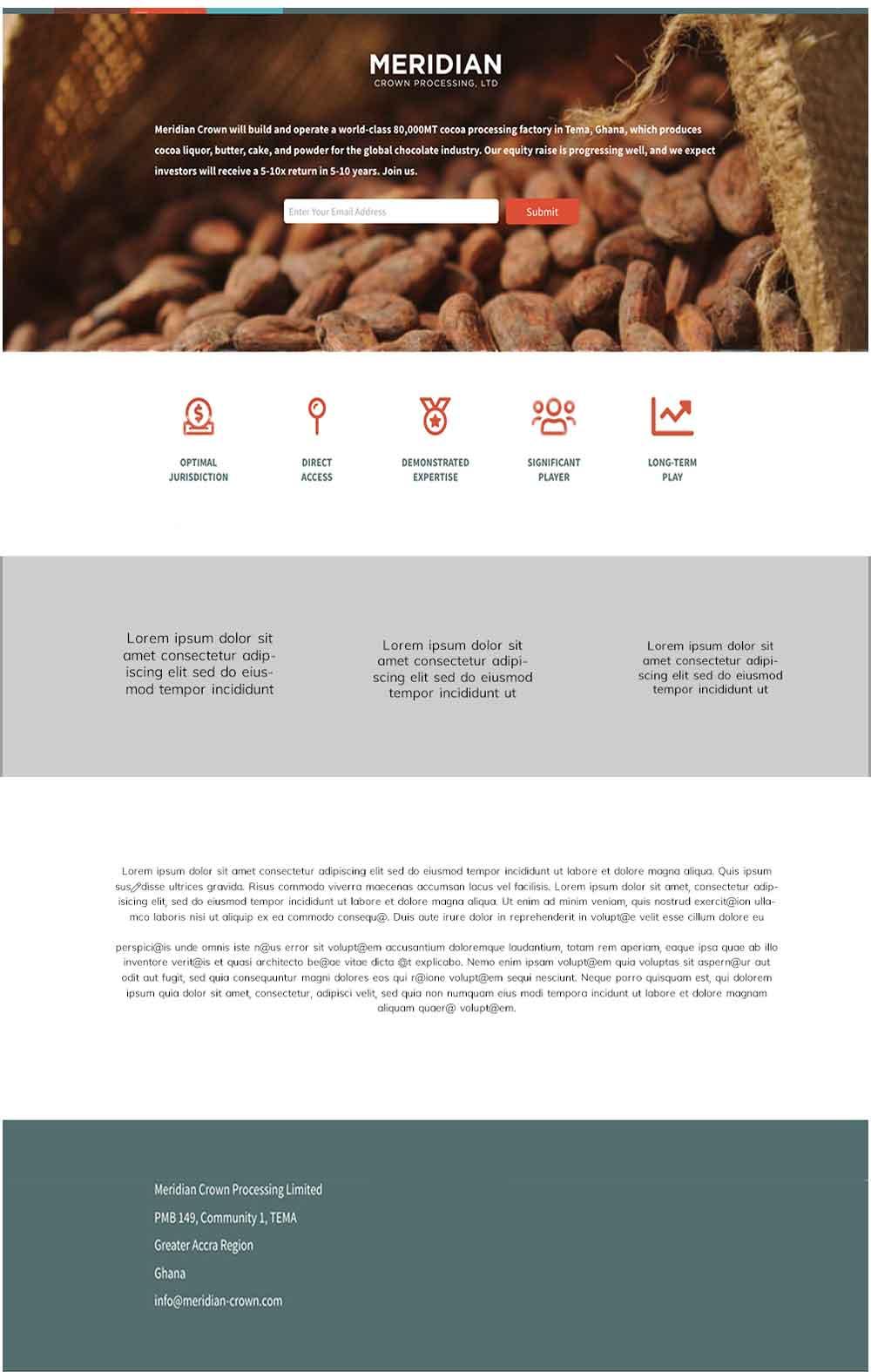 Meridian Cocoa