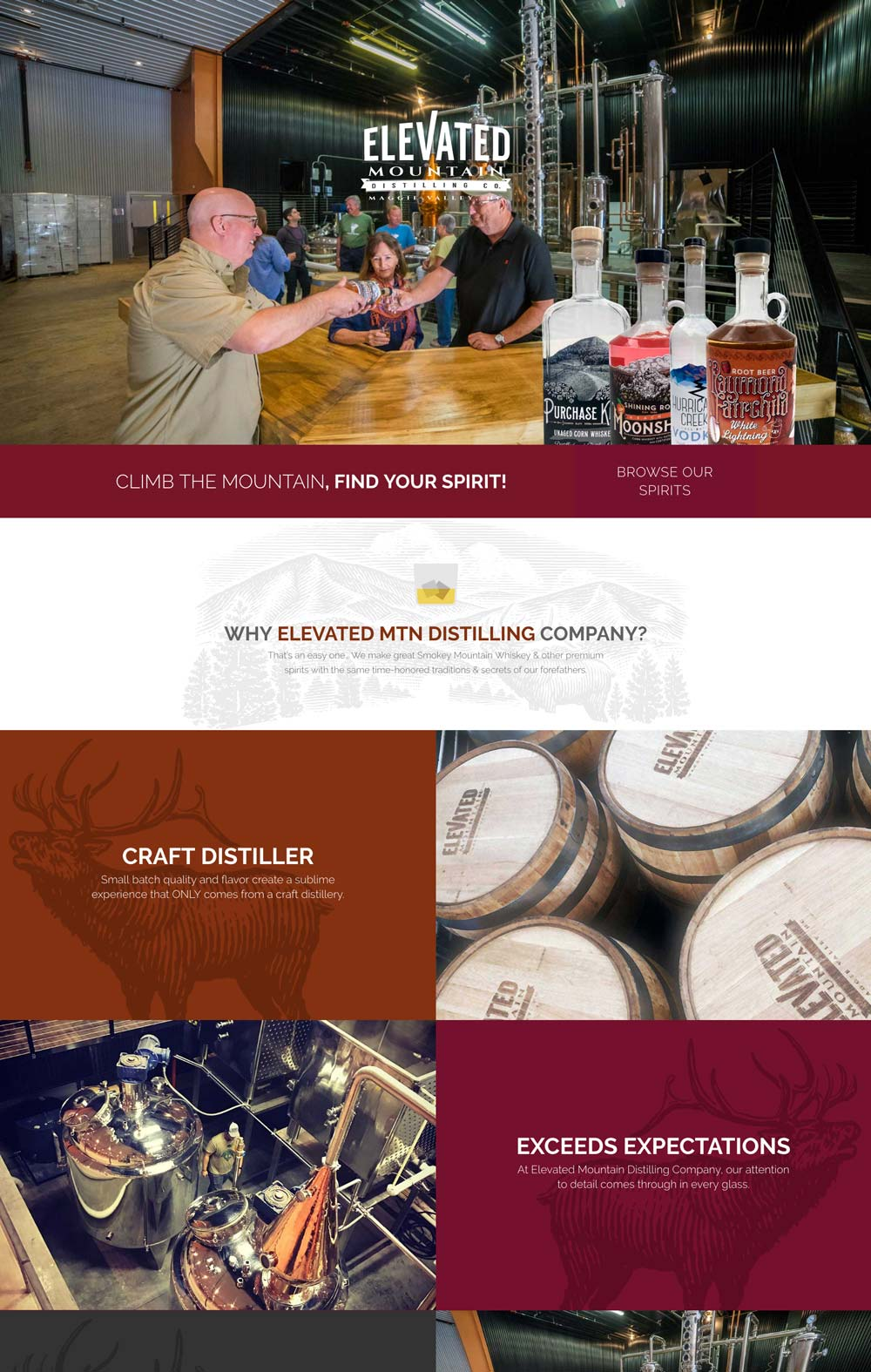 Elevated Mountain Distilling